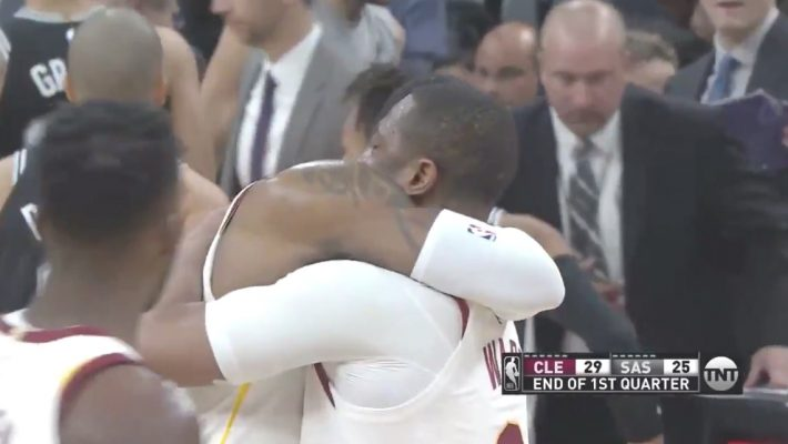 VIDEO: LeBron Embraces Teammates as He Becomes Youngest Player to Reach 30K Points