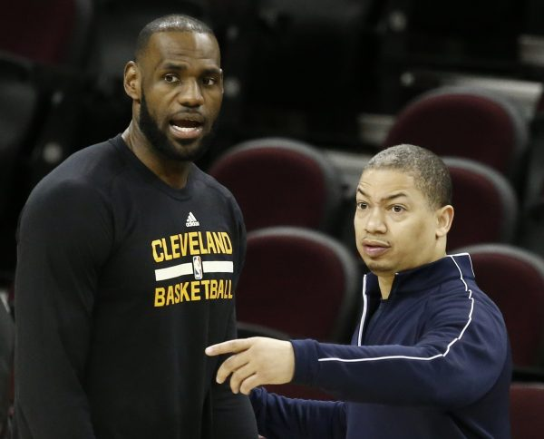LeBron James Tyronn Lue Cavs