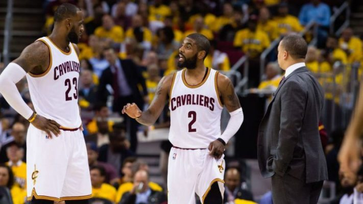 dbf54aa02740 Cavs Organization Recounts Time Kyrie Irving Refused to Listen to Tyronn  Lue Because of LeBron