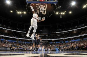 LeBron James Dunking vs. Orlando Magic