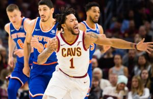 Derrick Rose Cavs vs. Knicks