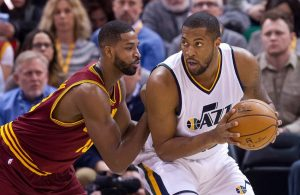 Tristan Thompson and Derrick Favors