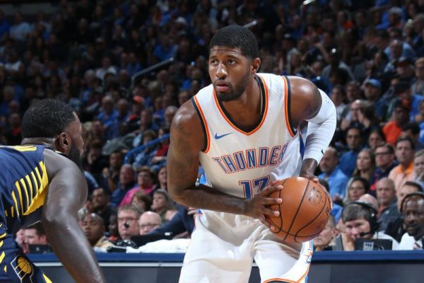 Paul George OKC Thunder