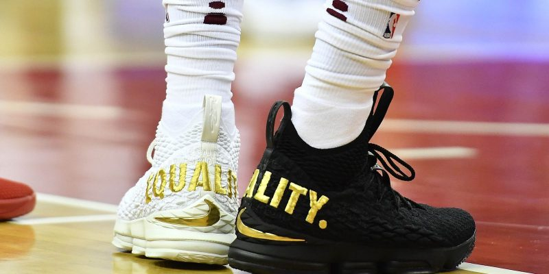 LOOK: LeBron James Drops Equality Shoes, Will Donate Proceeds to Museum