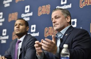 Dan Gilbert and Koby Altman Cavs