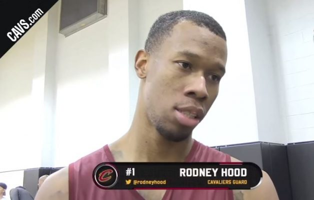 Rodney Hood Cavs Interview
