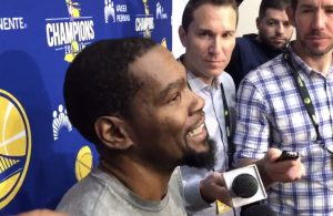 Kevin Durant's Hilarious Reaction to Warriors Possibly Signing LeBron James