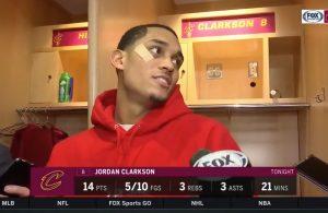 Jordan Clarkson Postgame Interview