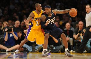 LeBron James vs. Kobe Bryant