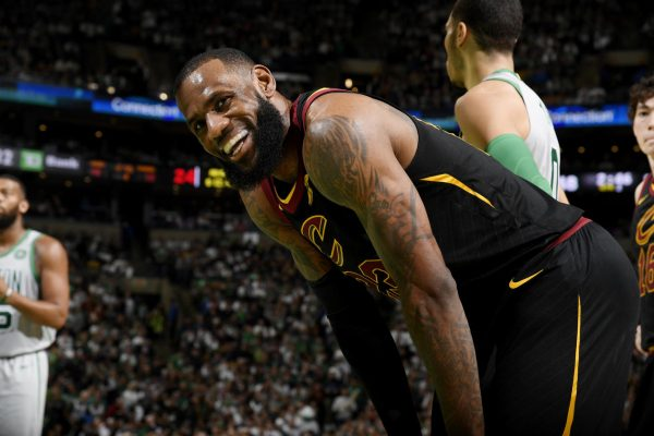 LeBron Cavs Celtics