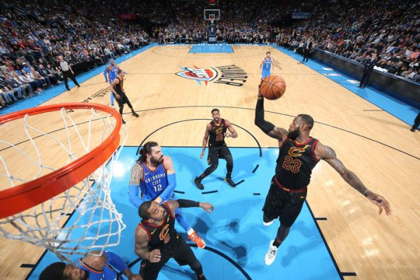 LeBron James OKC Thunder