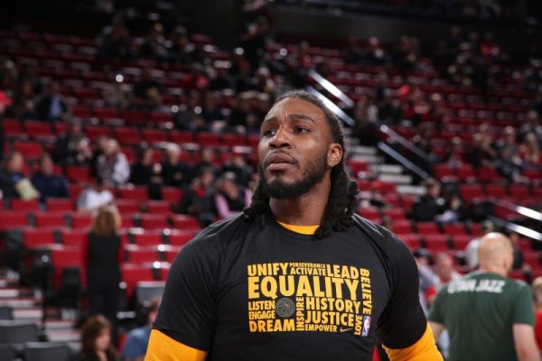 Jae Crowder Cavs Warmups