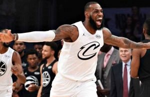 LeBron James 2018 All-Star Game