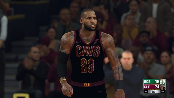 LeBron James NBA 2K18