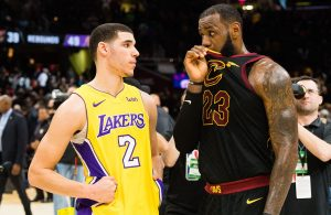 LeBron James, Lonzo Ball Lakers