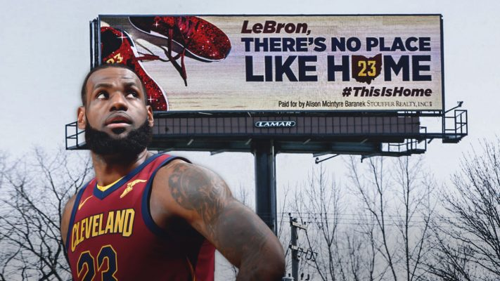 LeBron James Ohio Billboards