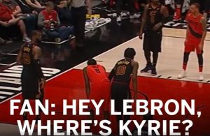 LeBron James Owns Heckler