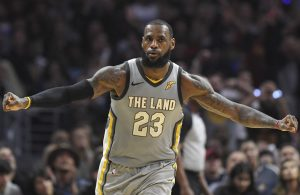 LeBron James Cavs The Land