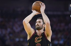 Kevin Love 3-Pointer Cavs