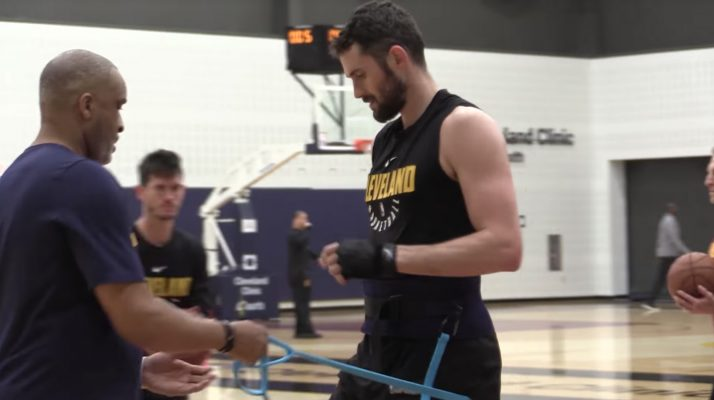 Kevin Love Cavs Workout