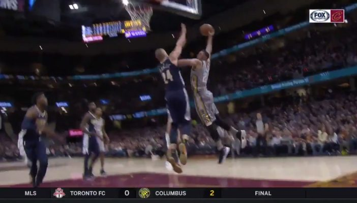 Larry Nance Jr. Destroys Mason Plumlee With Filthy Dunk