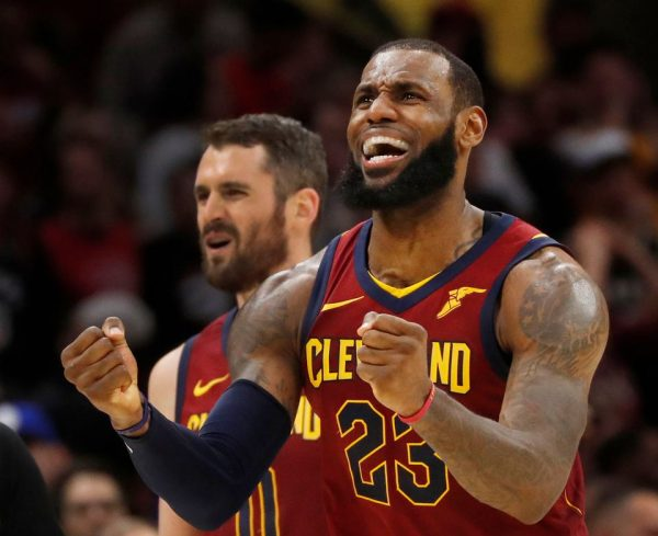 LeBron James Kevin Love Cavs
