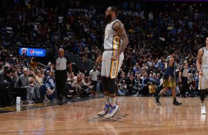 LeBron James Cavs Nuggets