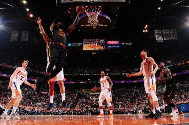 LeBron James Cavs vs. Suns