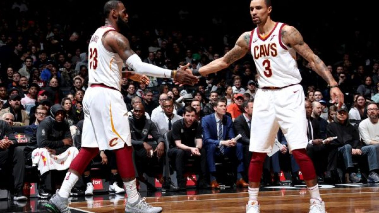 best cheap 50fb3 70fdc Video: LeBron James Gives Credit to Rodney Hood, George Hill ...