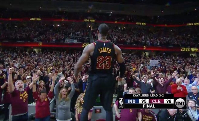 LeBron James Game-Winner