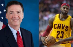 James Comey and LeBron James
