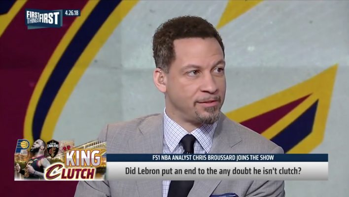 Chris Broussard LeBron Clutch