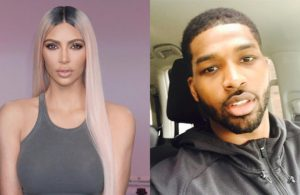Kim Kardashian and Tristan Thompson Cavs