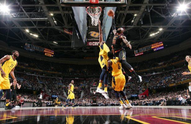 LeBron James Cavs Pacers