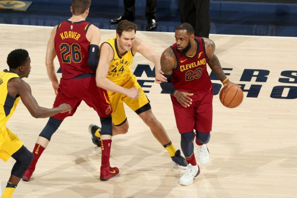 LeBron Cavs Pacers