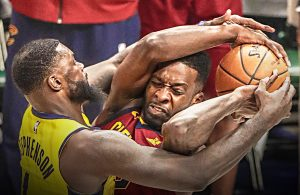 Lance Stephenson and Jeff Green