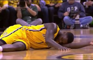 Lance Stephenson Indiana Pacers Flopping