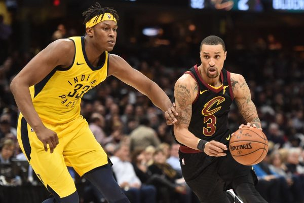 Cavs' George Hill questionable for Game 5 vs. Pacers