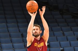 Kevin Love Shooting Practice
