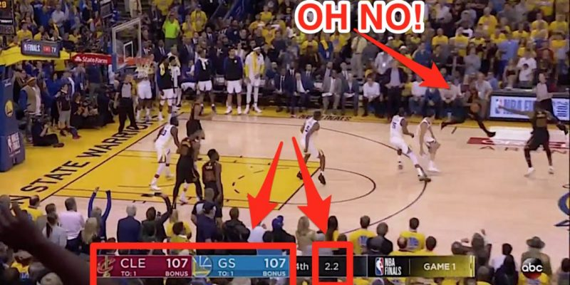 J.R. Smith Commits Costly Blunder