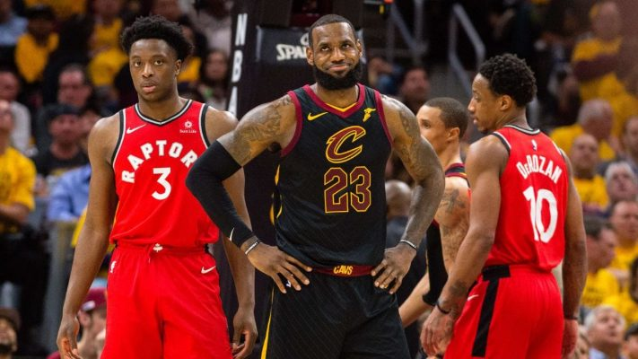 LeBron James and Toronto Raptors