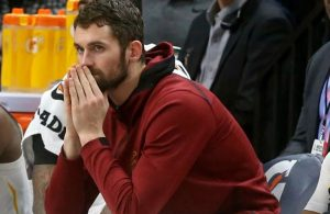 Kevin Love Bench