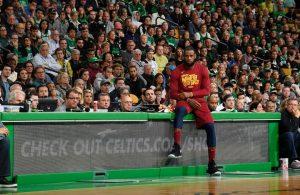 LeBron James Celtics
