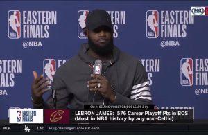 LeBron James Game 2 Postgame