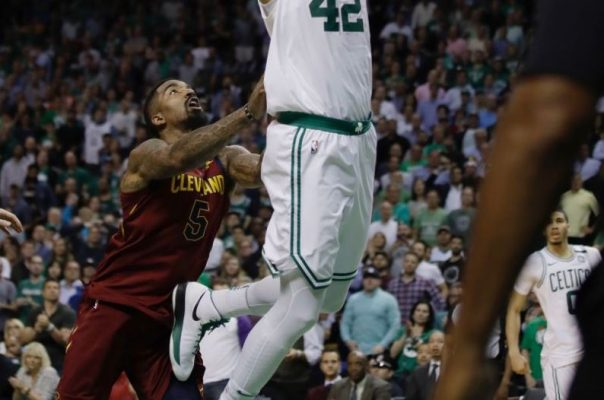 J.R. Smith Flagrant Foul Al Horford
