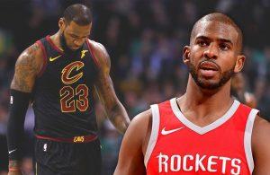 LeBron James and Chris Paul Rockets