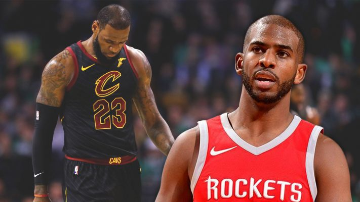 LeBron James and Chris Paul Rockets