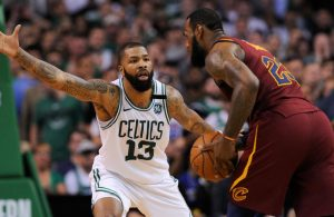 Marcus Morris LeBron James Cavs Celtics
