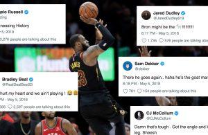 NBA Players React to LeBron's Game-Winner