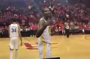 Kevin Durant Owned by Rockets Fan